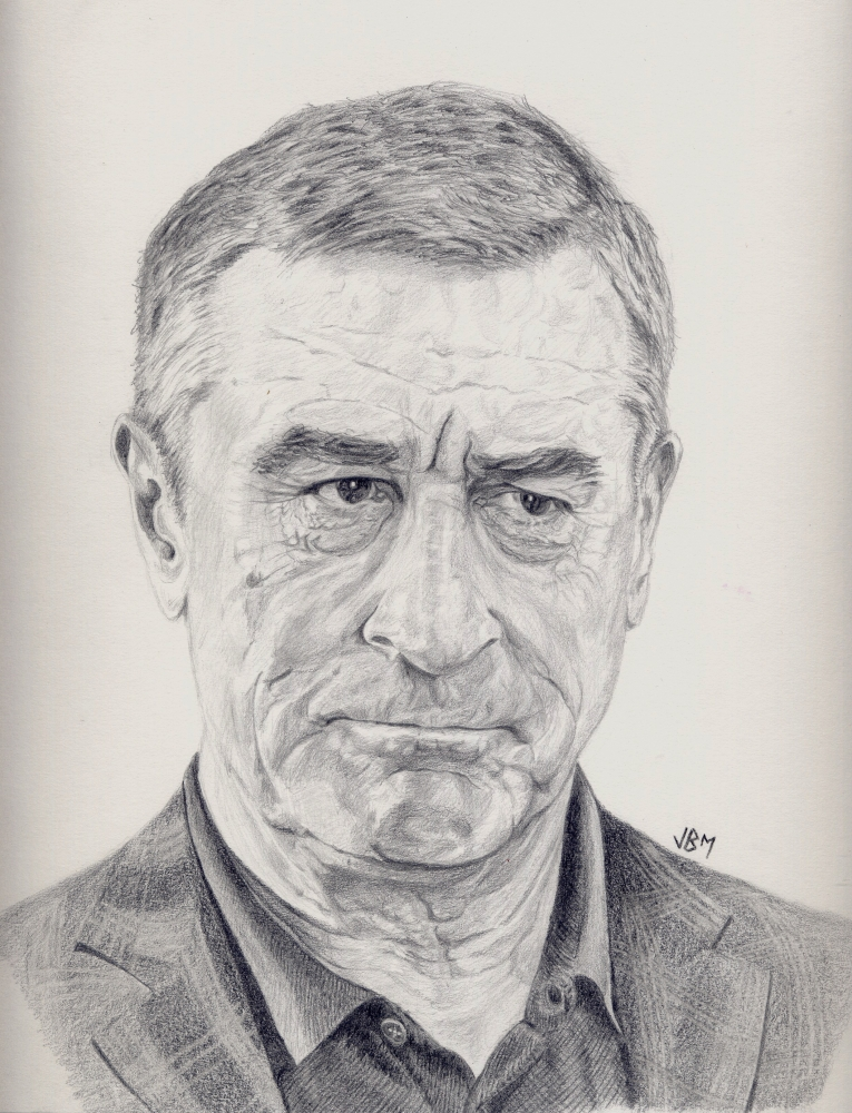 Robert De Niro by JBM